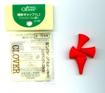 クロバー 棒針キャップ(L) 55-308