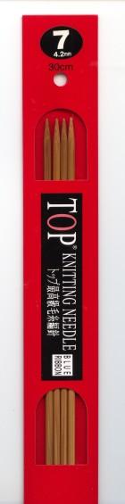TOP 棒針 4本針 30cm (7号から15号)